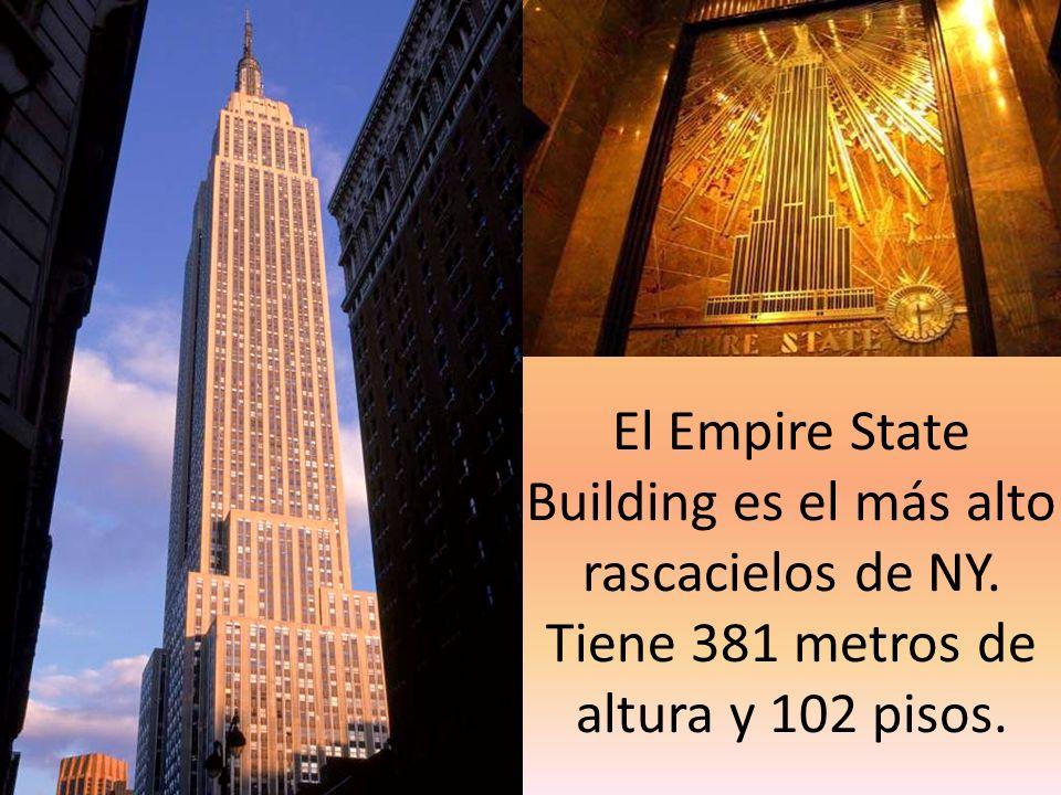 El Empire State Building es el más alto rascacielos de NY