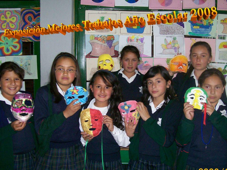 Exposiciòn Mejores Trabajos Año Escolar 2008