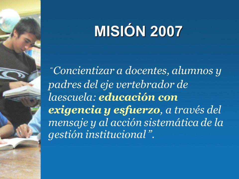 MISIÓN 2007