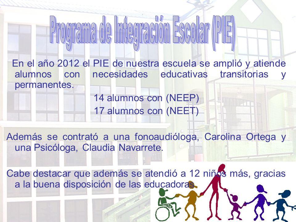 Programa de Integración Escolar (PIE)