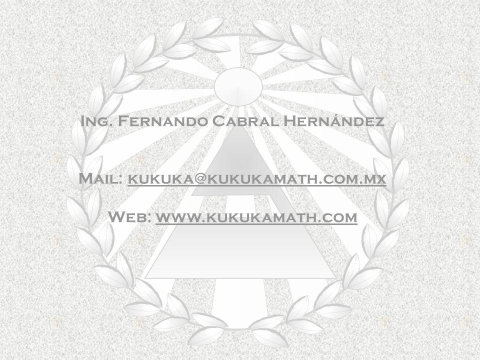 Ing. Fernando Cabral Hernández