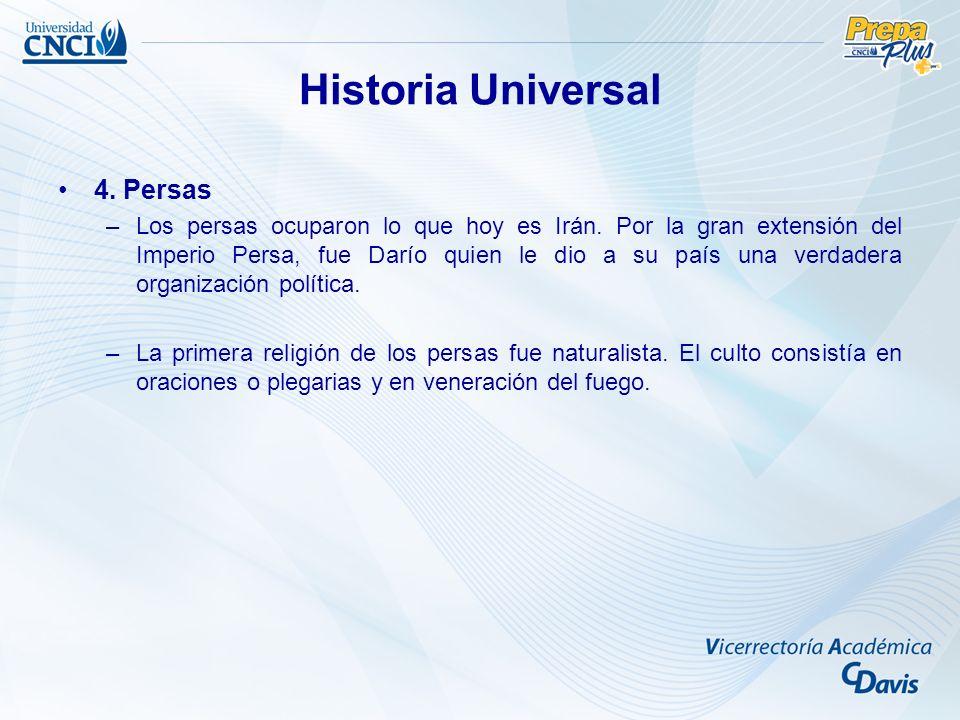 Historia Universal 4. Persas
