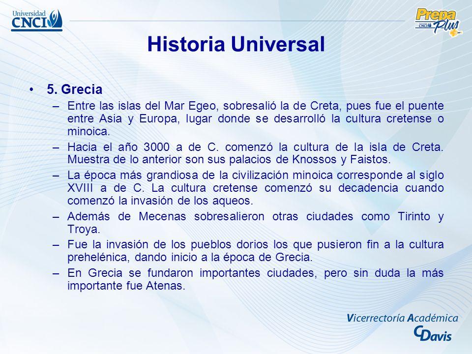 Historia Universal 5. Grecia
