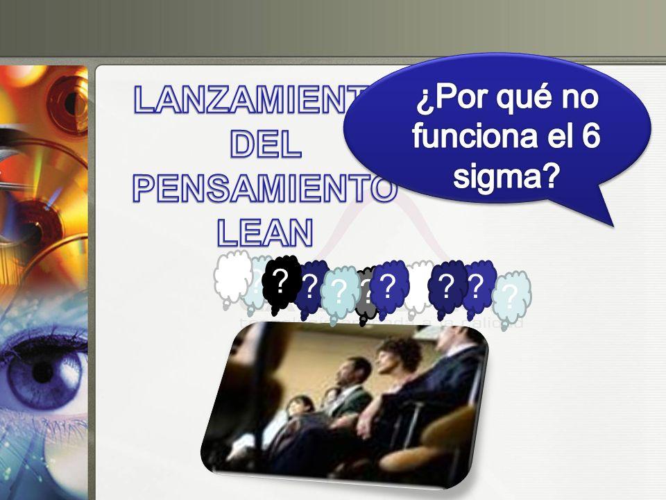 LANZAMIENTO DEL PENSAMIENTO LEAN