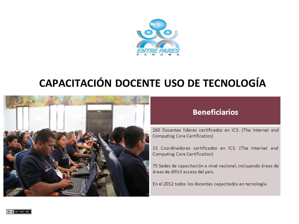 CAPACITACIÓN DOCENTE USO DE TECNOLOGÍA
