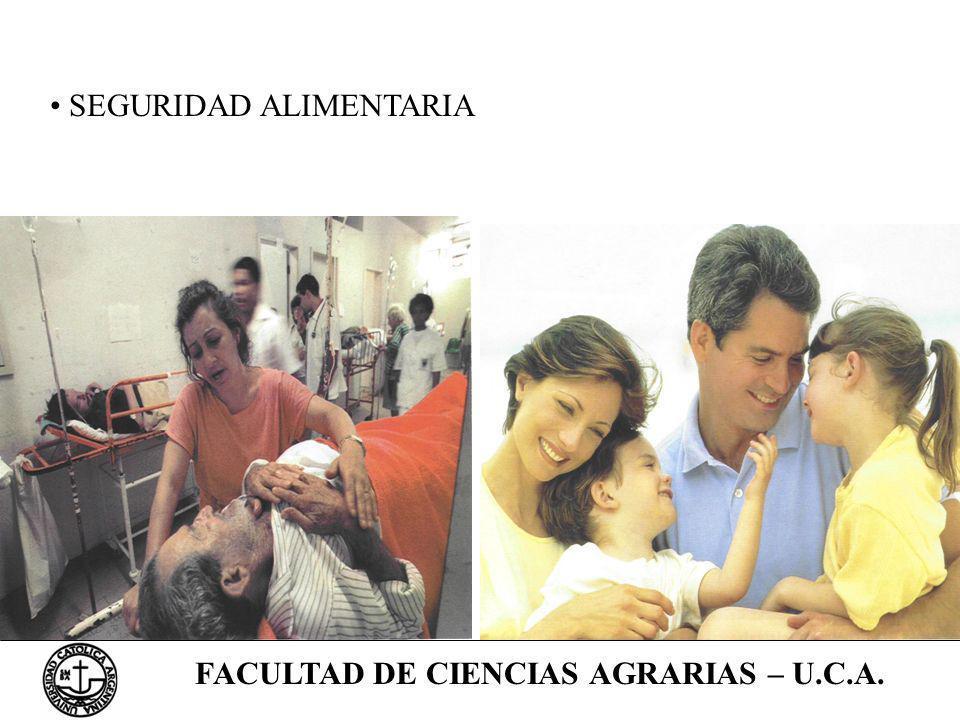 FACULTAD DE CIENCIAS AGRARIAS – U.C.A.
