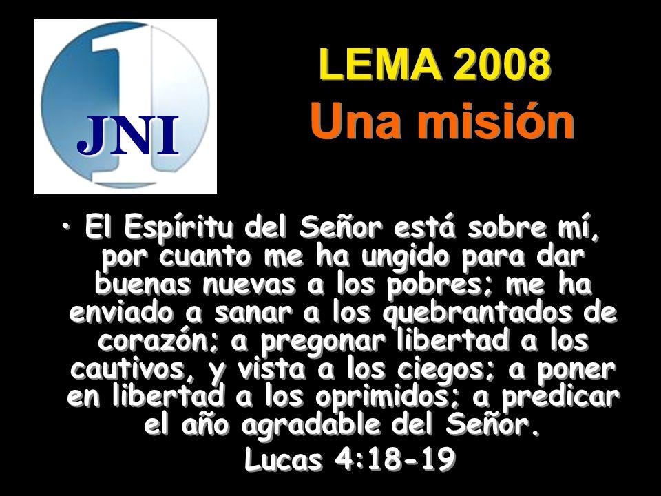LEMA 2008 Una misión. JNI.