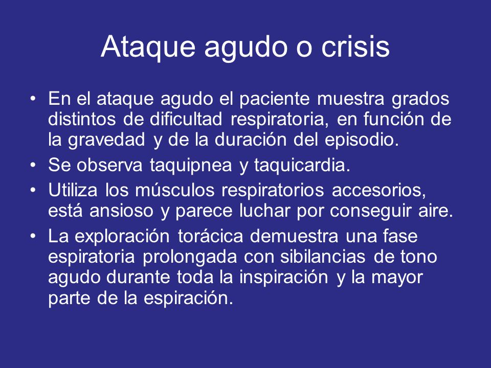 Ataque agudo o crisis