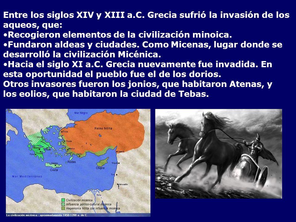 Entre los siglos XIV y XIII a. C