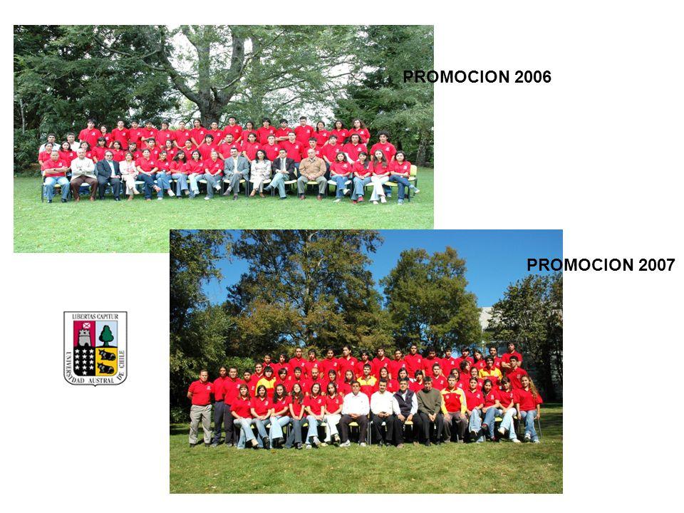 PROMOCION 2006 PROMOCION 2007