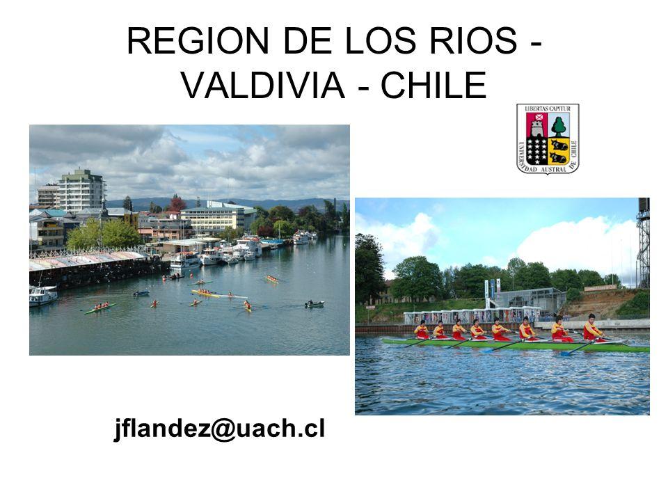 REGION DE LOS RIOS - VALDIVIA - CHILE