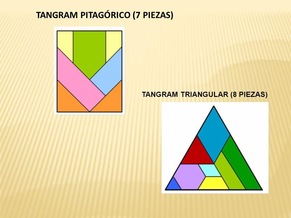 TANGRAM PITAGÓRICO (7 PIEZAS)