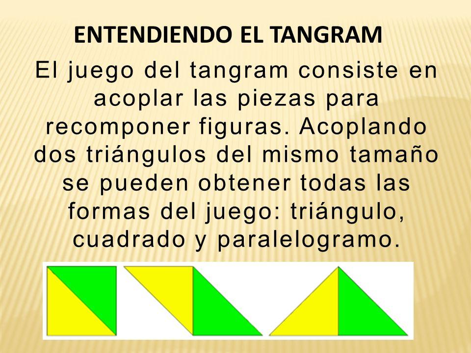 ENTENDIENDO EL TANGRAM