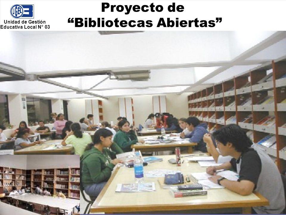 Proyecto de Bibliotecas Abiertas