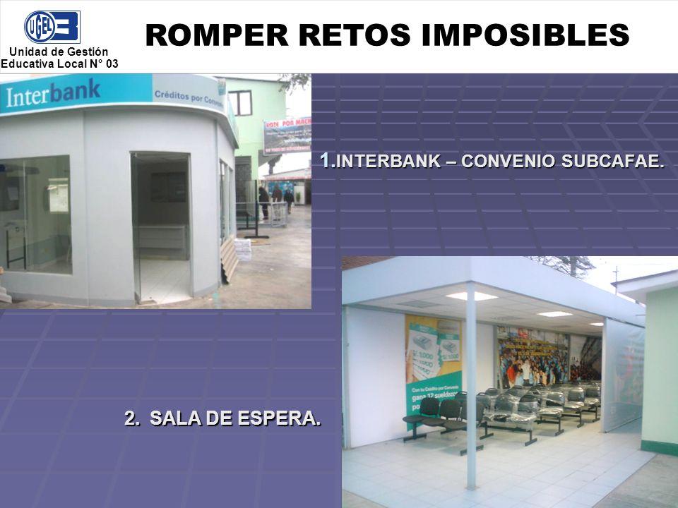 ROMPER RETOS IMPOSIBLES