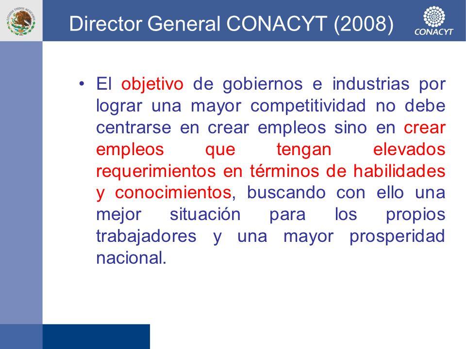 Director General CONACYT (2008)
