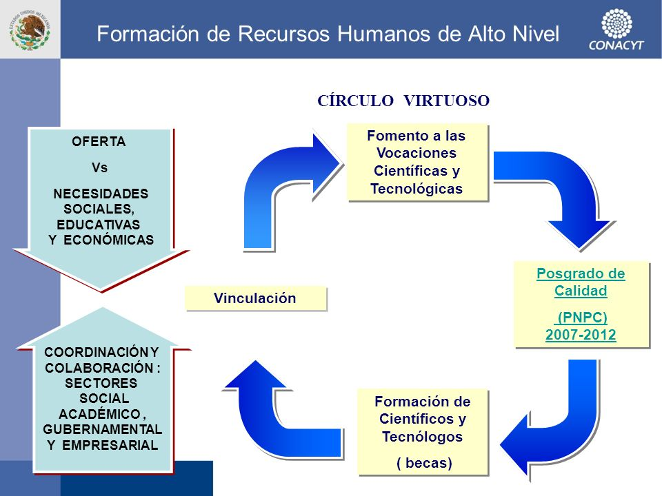 Formación de Recursos Humanos de Alto Nivel