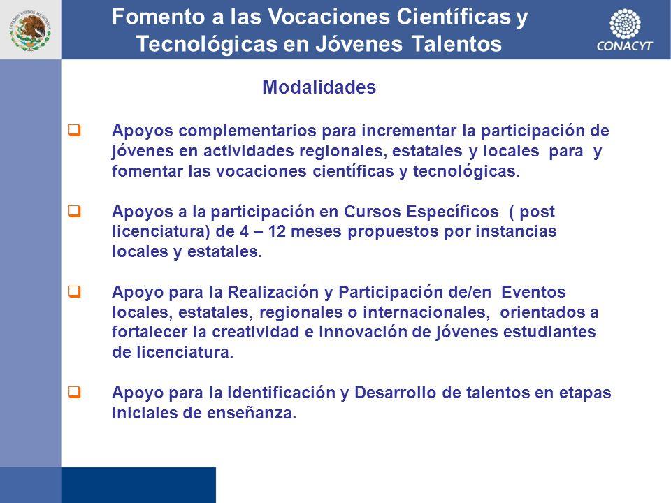 Fomento a las Vocaciones Científicas y Tecnológicas en Jóvenes Talentos