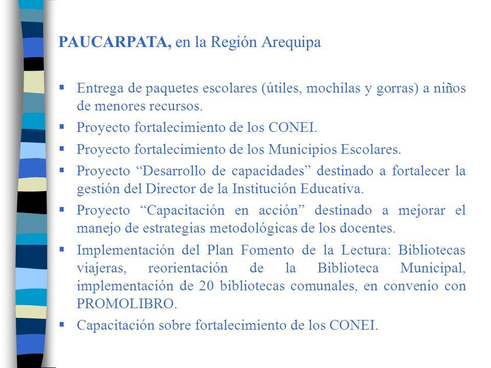 PAUCARPATA, en la Región Arequipa