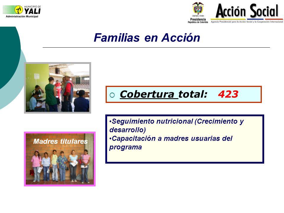 Familias en Acción Cobertura total: 423