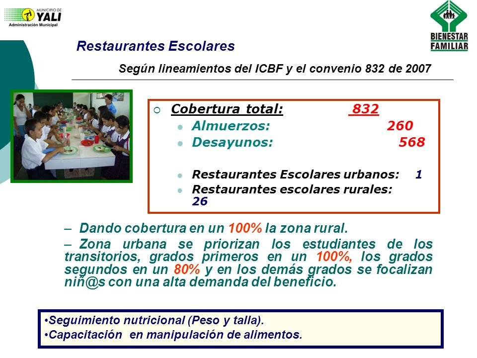 Restaurantes Escolares