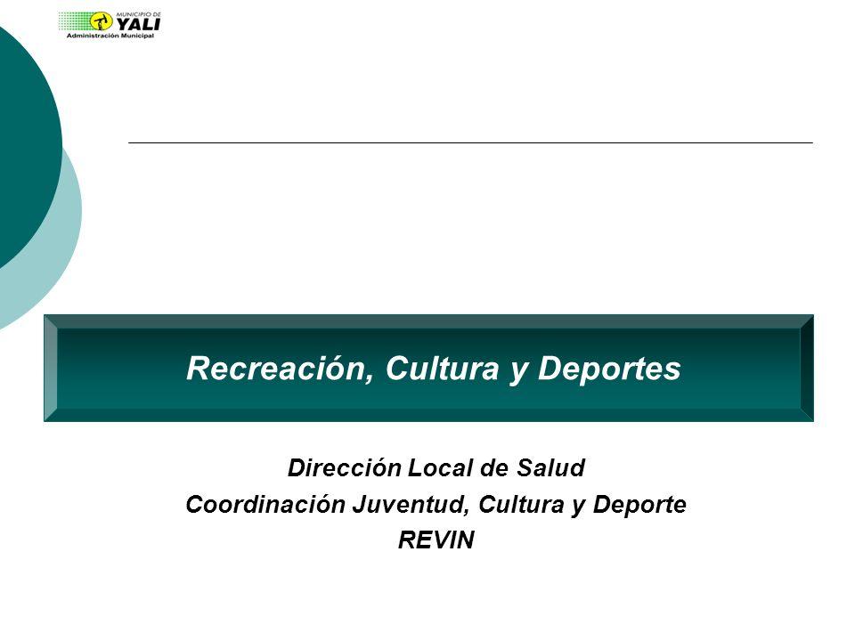 Recreación, Cultura y Deportes