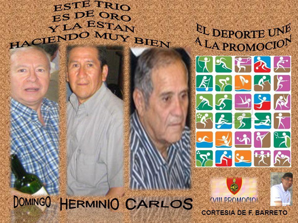 EL DEPORTE UNE A LA PROMOCION DOMINGO HERMINIO CARLOS ESTE TRIO