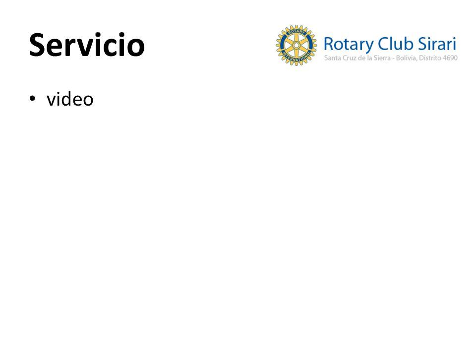 Servicio video