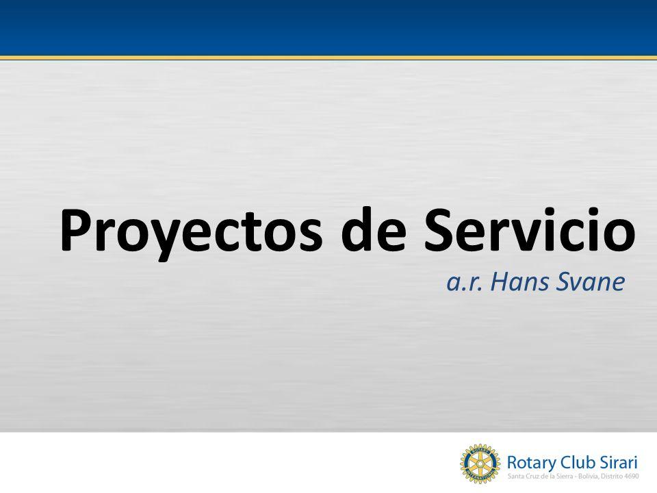 Proyectos de Servicio a.r. Hans Svane