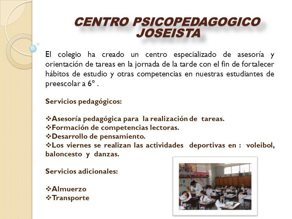 CENTRO PSICOPEDAGOGICO JOSEISTA