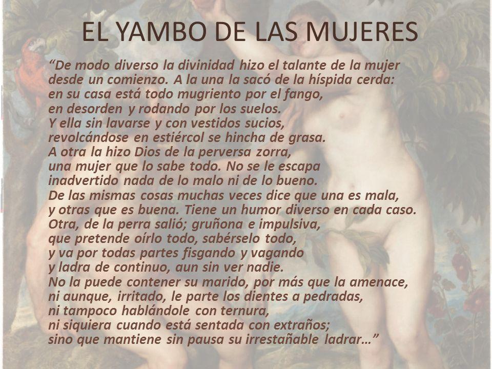 EL YAMBO DE LAS MUJERES