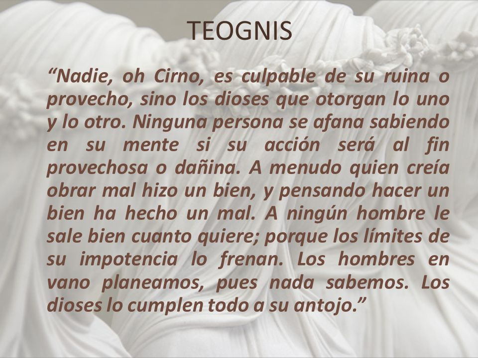 TEOGNIS