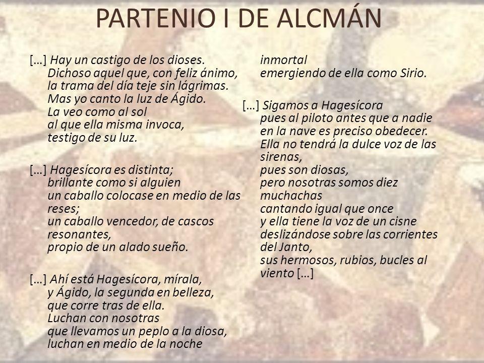PARTENIO I DE ALCMÁN