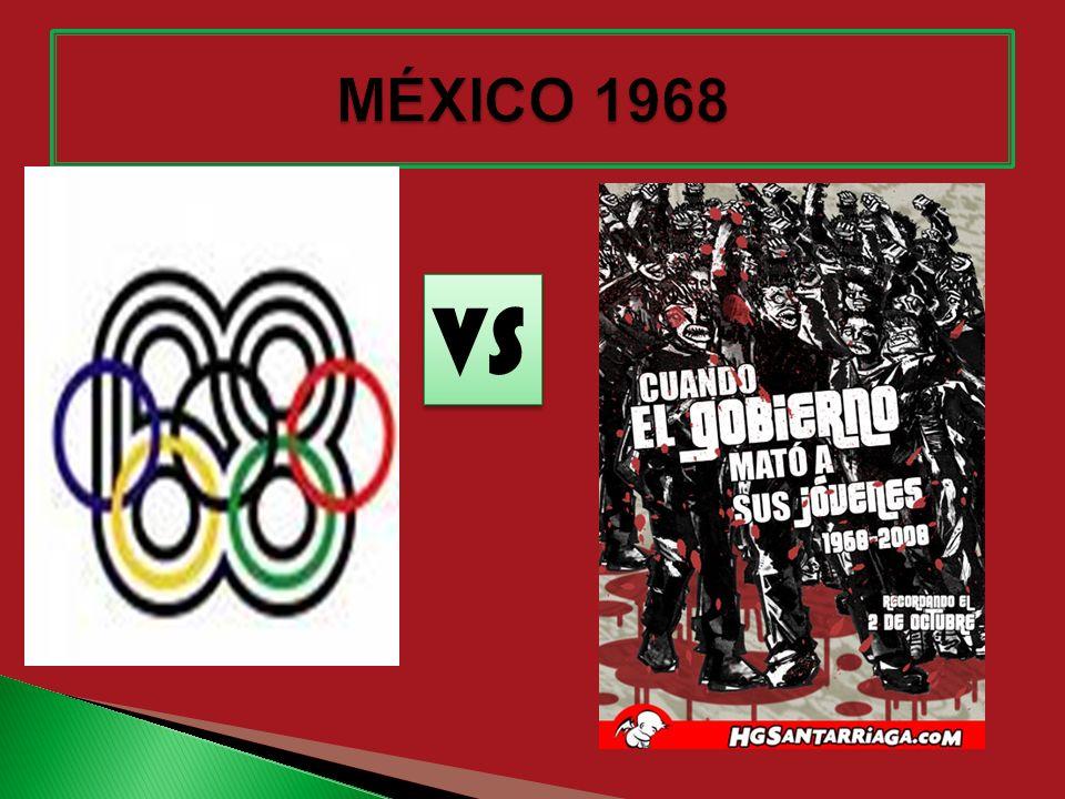 MÉXICO 1968 VS