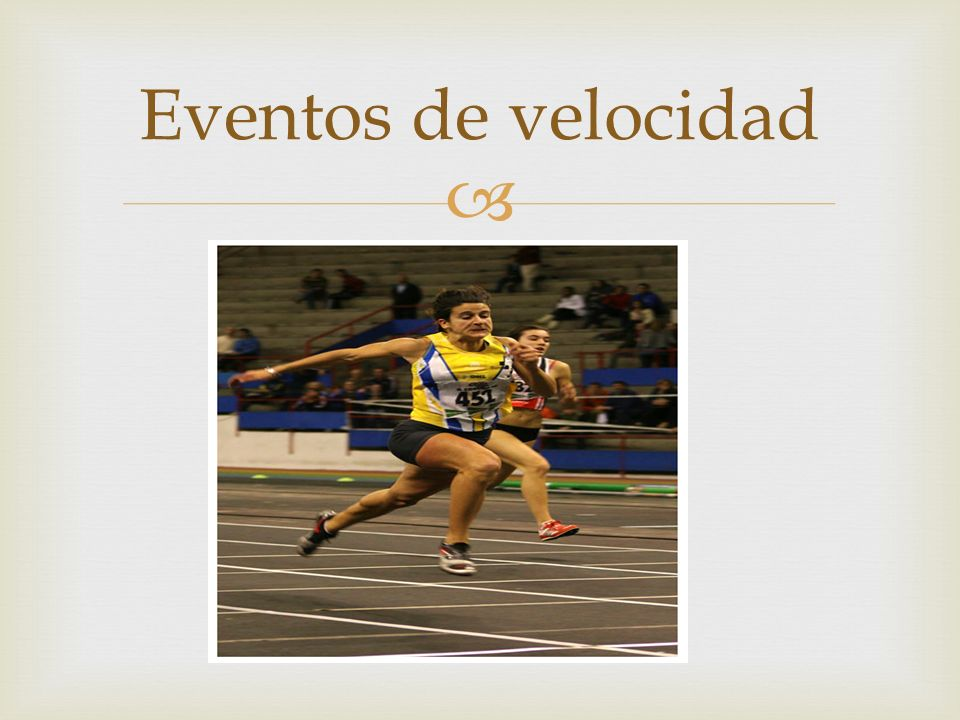 Eventos de velocidad