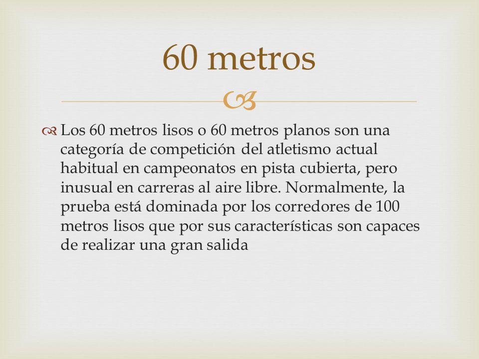 60 metros