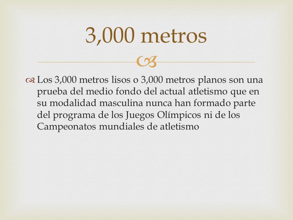 3,000 metros