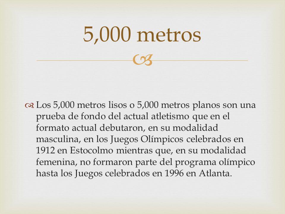 5,000 metros