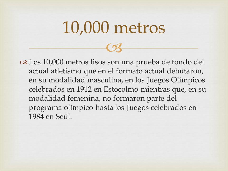 10,000 metros