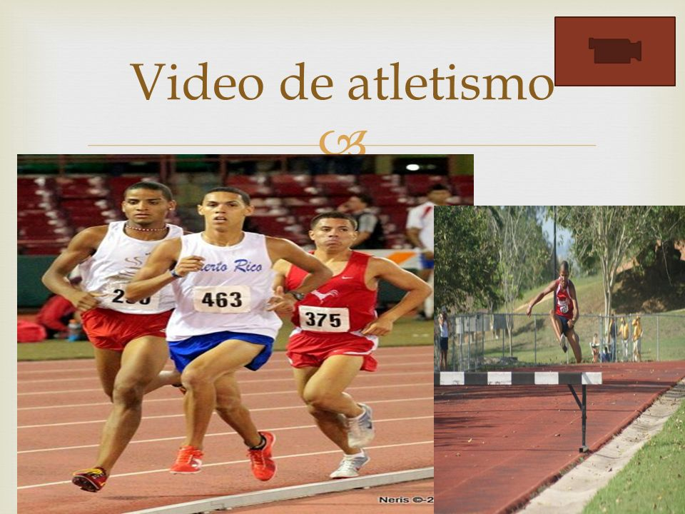 Video de atletismo