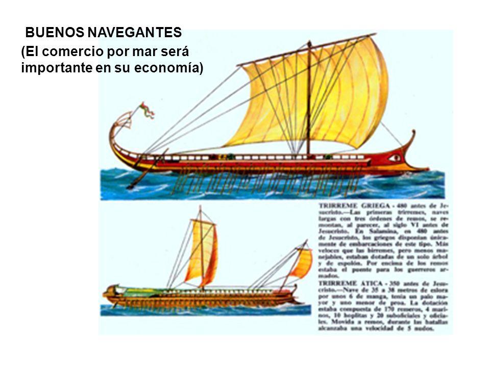 BUENOS NAVEGANTES (El comercio por mar será importante en su economía)