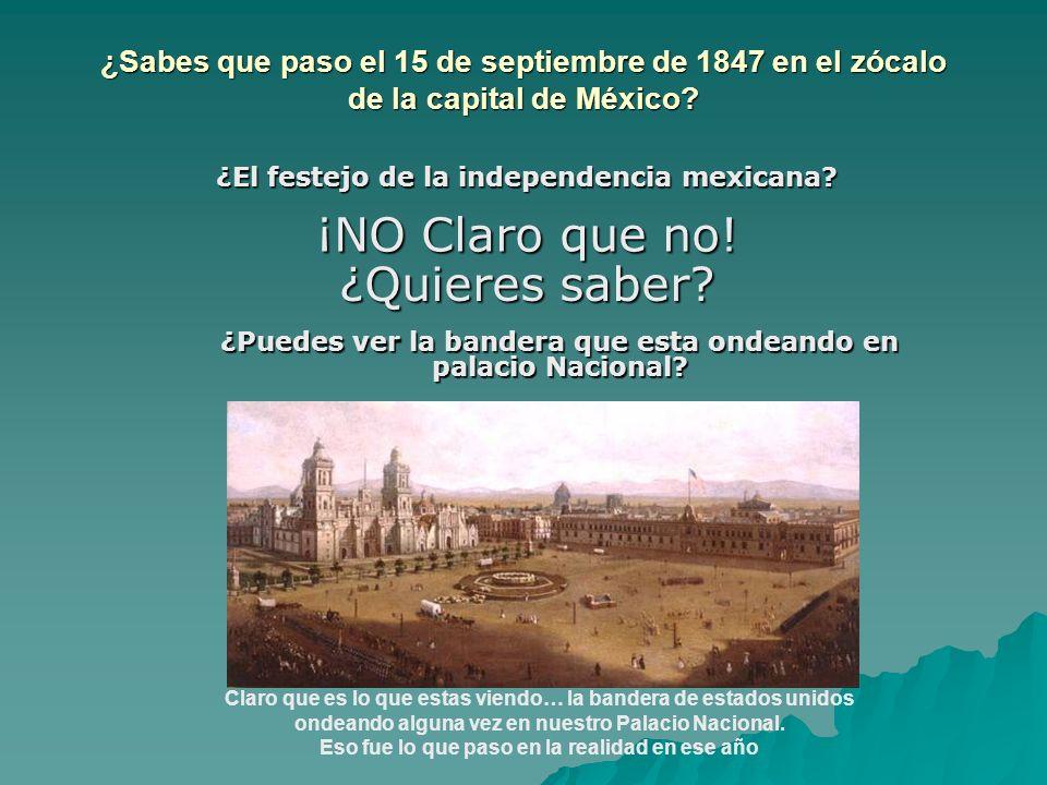 ¿El festejo de la independencia mexicana