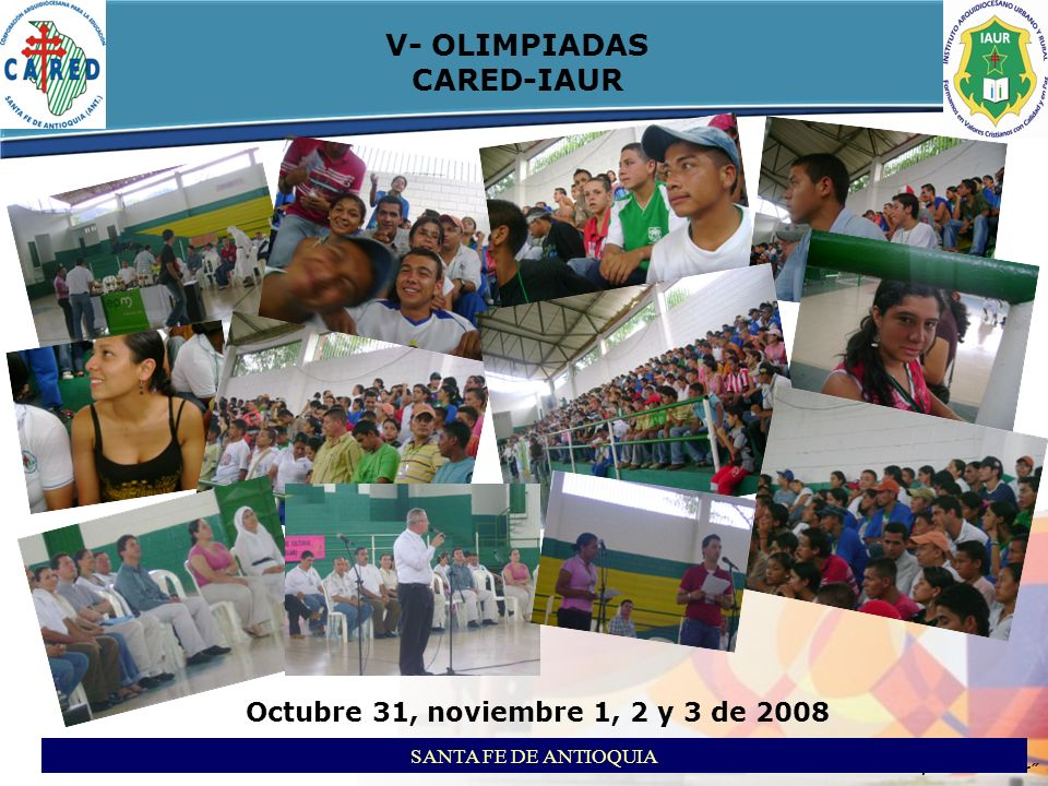 V- OLIMPIADAS CARED-IAUR