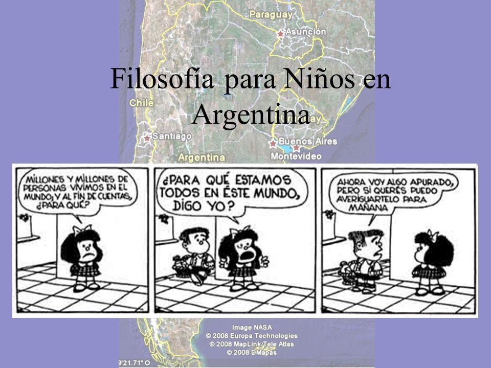 Filosofía para Niños en Argentina