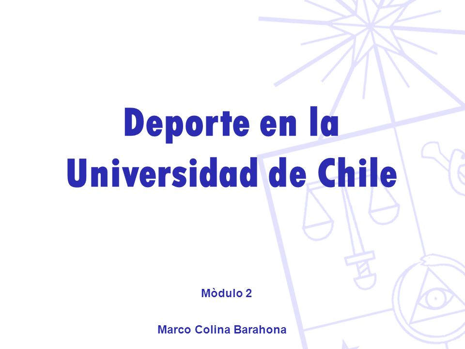 Deporte en la Universidad de Chile