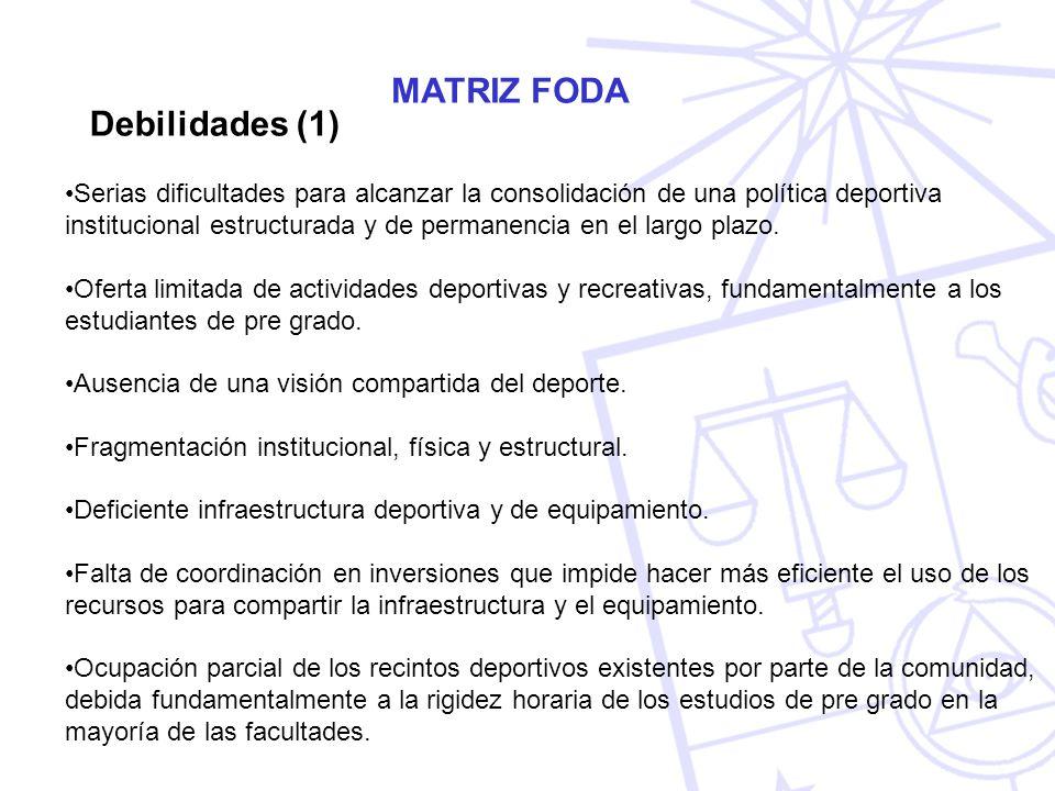 MATRIZ FODA Debilidades (1)