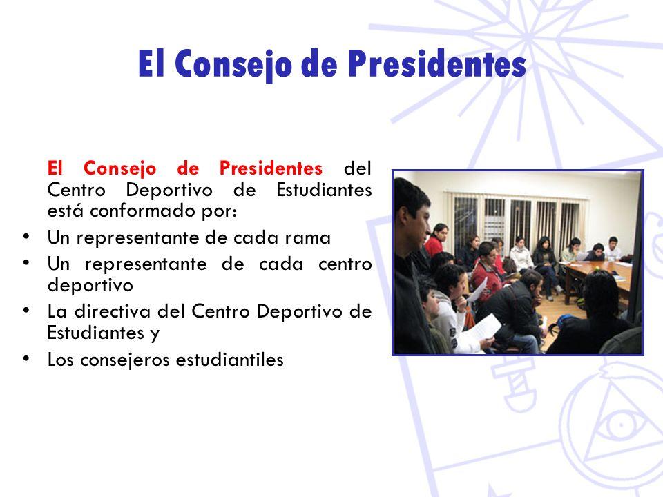 El Consejo de Presidentes