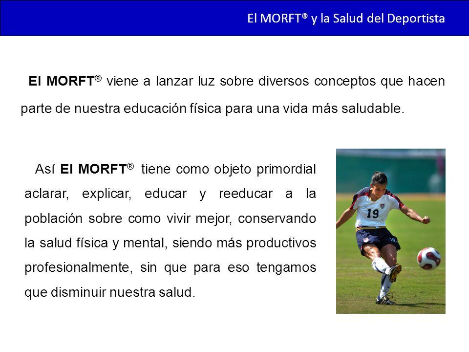 El MORFT® y la Salud del Deportista