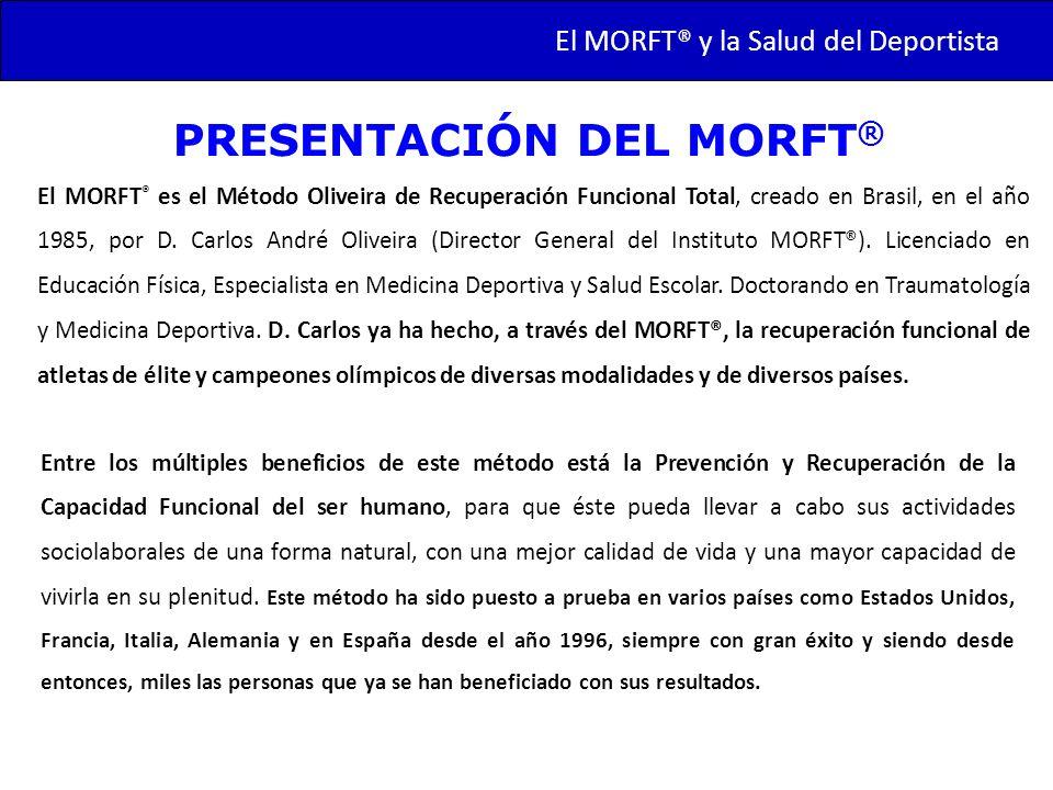 PRESENTACIÓN DEL MORFT®
