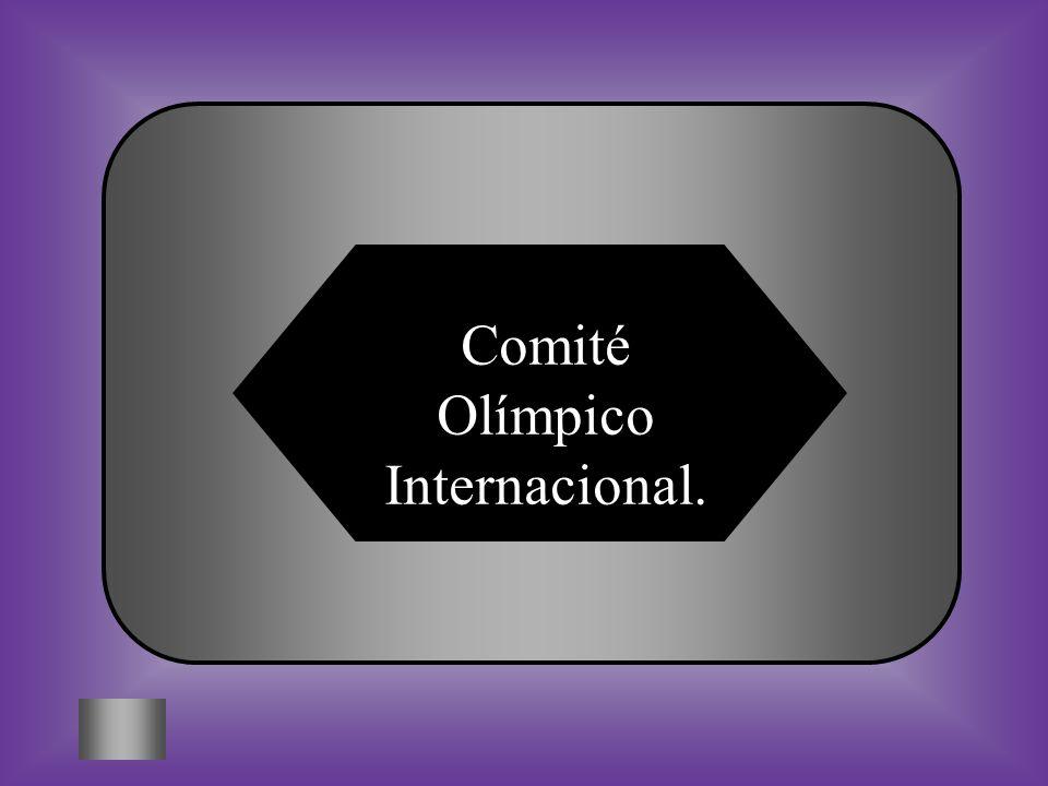 Comité Olímpico Internacional.